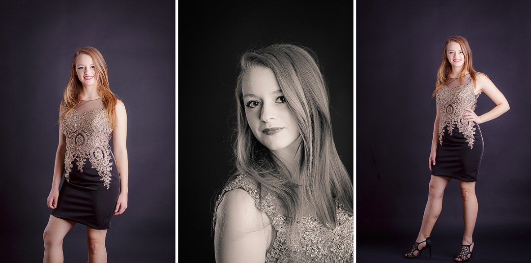 Senior Photo Studio Near Reading PA formals