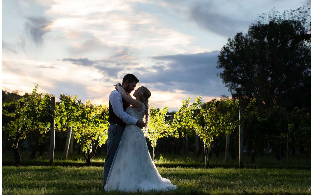 Eastern PA Winery Wedding | Armstrong Valley Winery | Kayci + Sage!