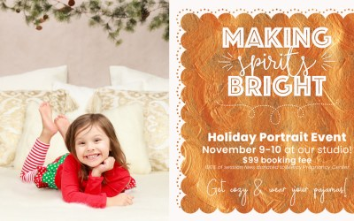 2018 Holiday Pictures | Berks County, PA Studio | Cozy Christmas PJ's!