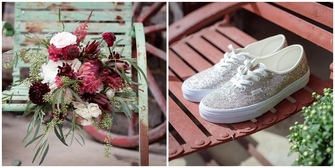 vans for bridal shoes