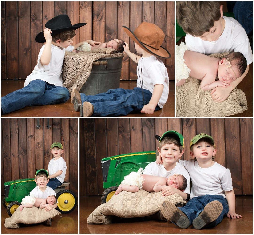 Berks County Reading PA Newborn Family Siblings Photography Photographer Photo