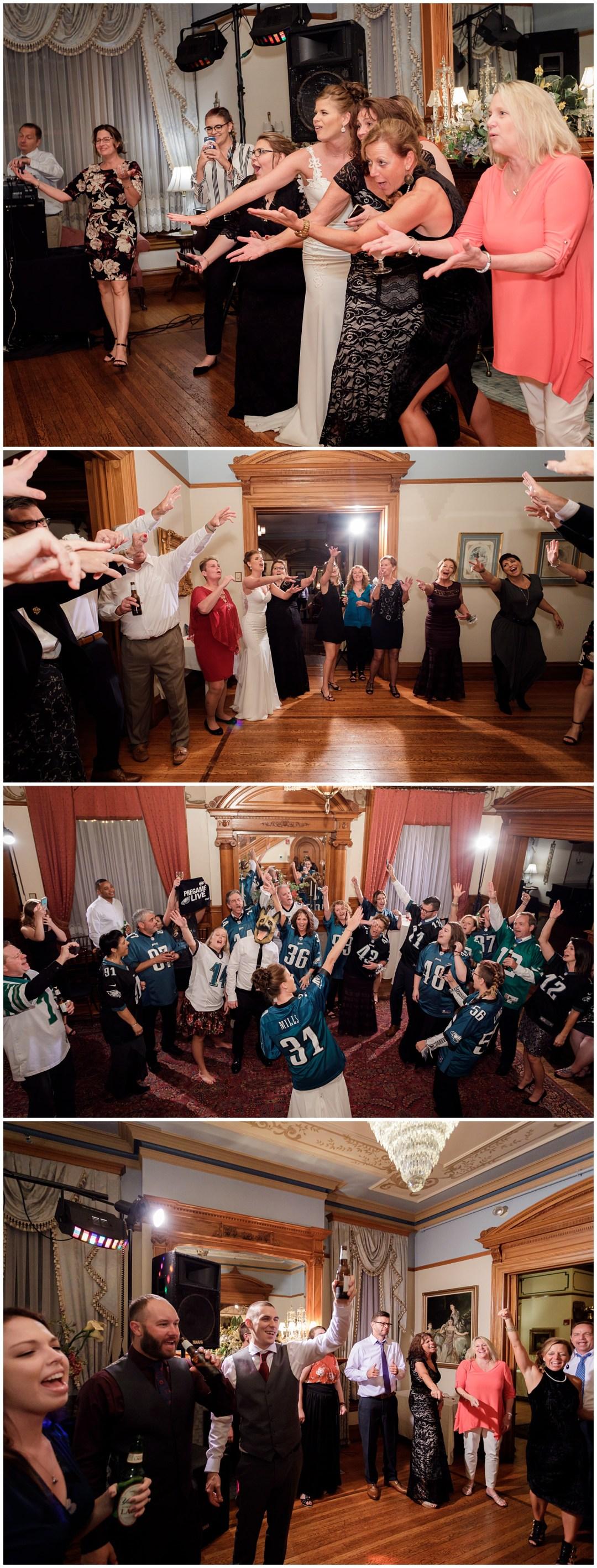 dance floor in stirling guest hotel