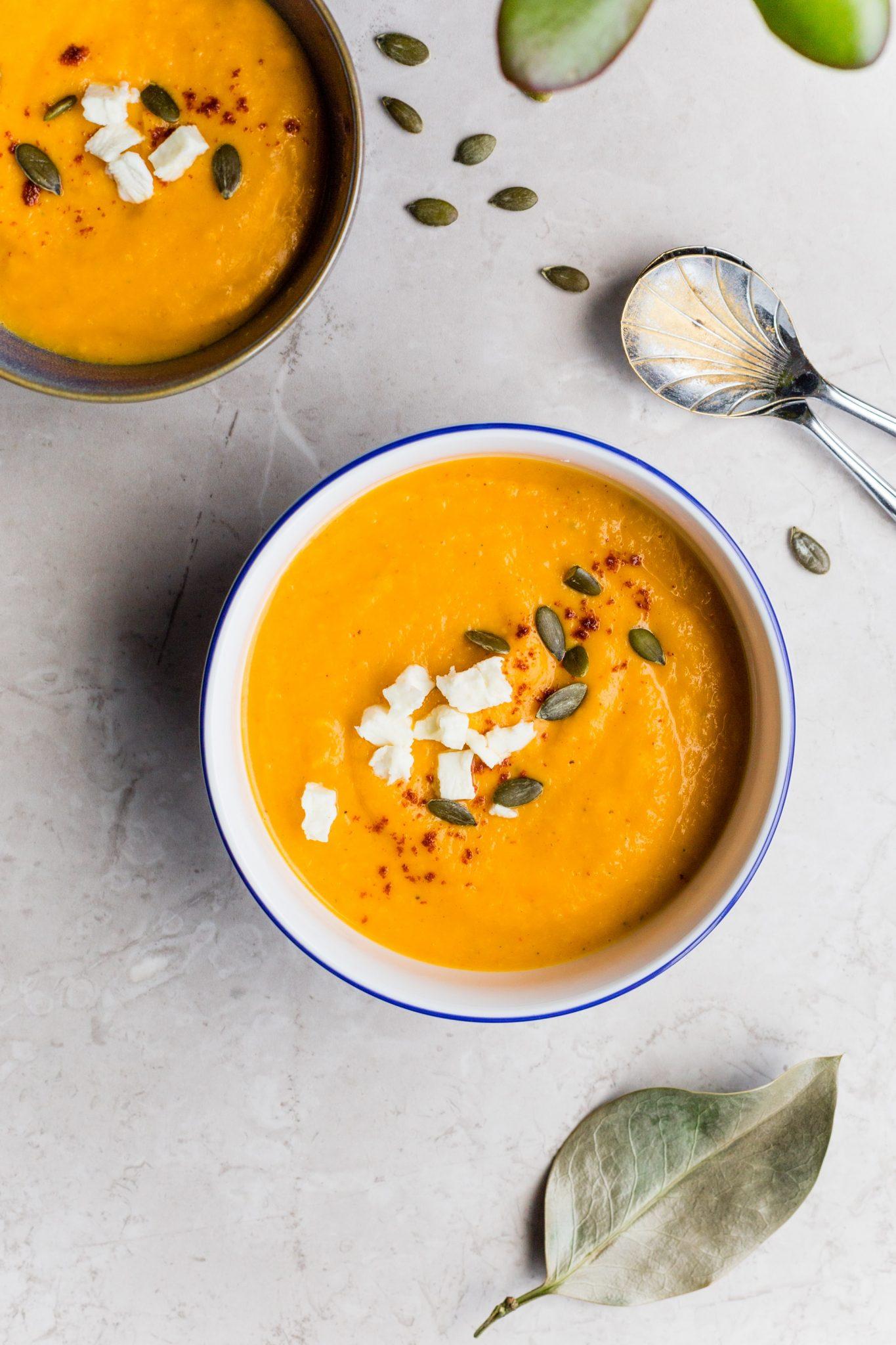 pumpkin orange soup
