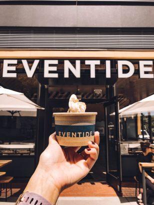 Rundreise Neuengland Staaten Eventide Frozen Yoghurt