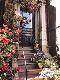 Rundreise Neuengland Staaten Boston Hauseingang