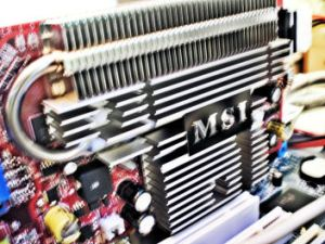 MAC - PC MSI Fanless Graphics Card GeForce 7600GS