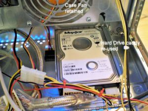 MAC - PC Hard Drive and Case Fan