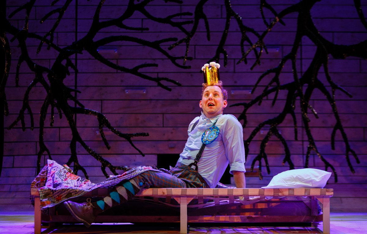 Lifestyle District | Review: Sleeping Beauty - Bristol Old Vic - David Emmings (Percy) - Photography by Steve Tanner