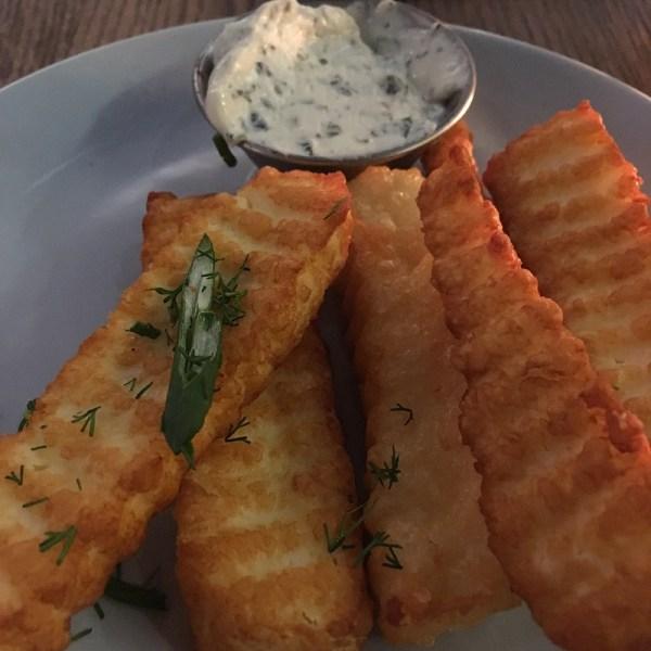 Halloumi fries at The Real Greek Bristol