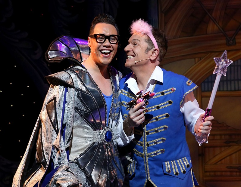 Brian Conley and Gok Wan in Cinderella at Bristol Hippodrome