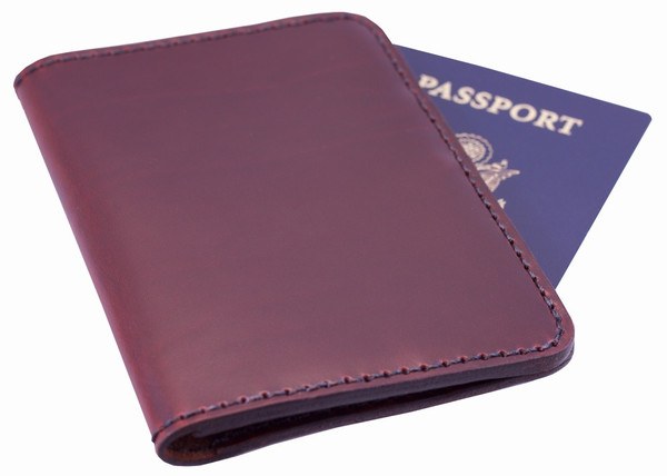Chester Mox Leather Passport Cover