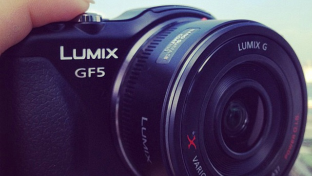 Panasonic GF5 picture leaked by Hong Kong model Angelababy