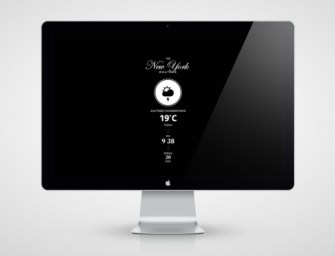 The Weather, City Edition ScreenSaver for Mac by Stefan Trifan