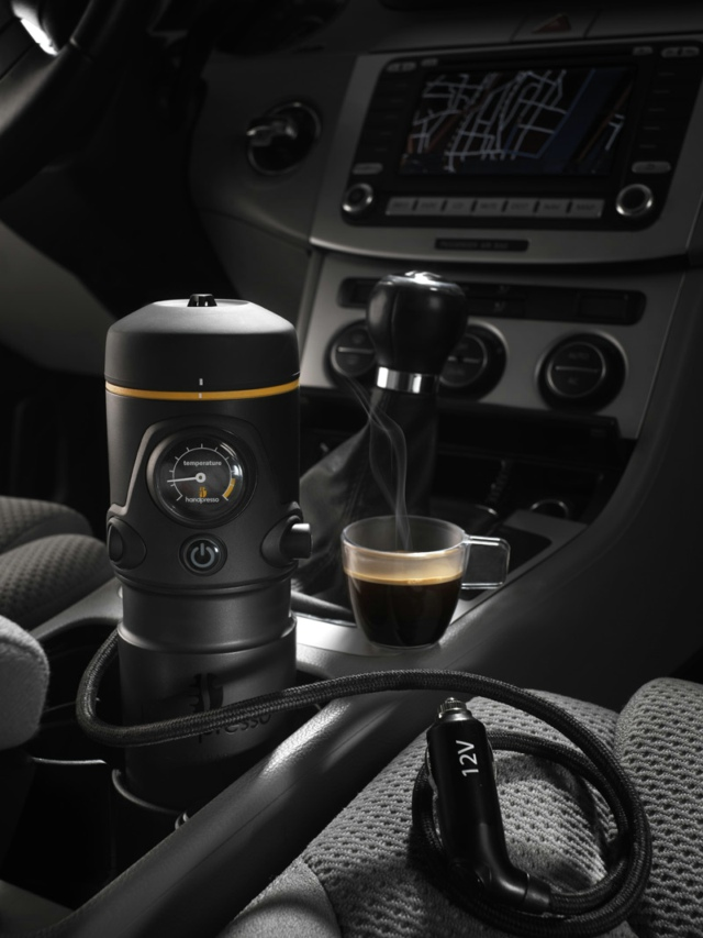 Handpresso Auto: the espresso machine for the car