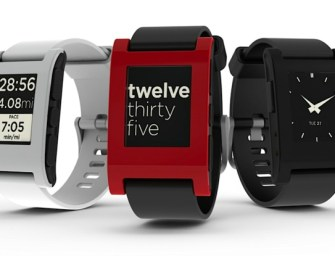 Pebble SmartWatch: E-Paper Watch for iPhone and Android