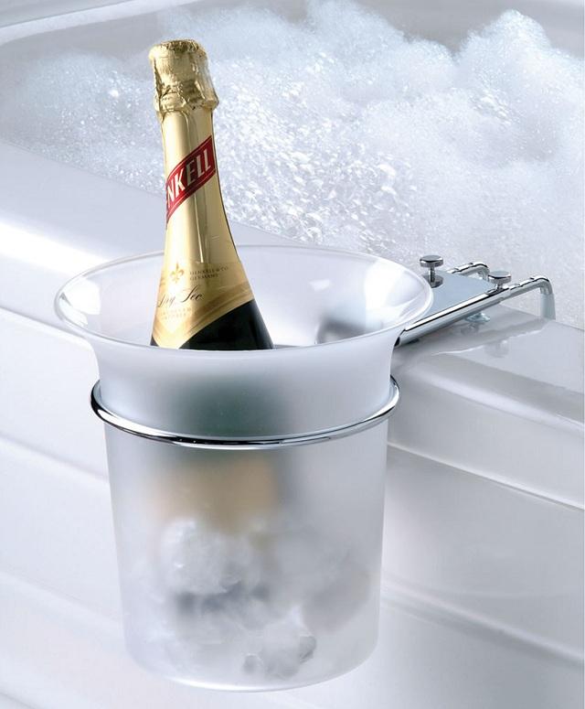 Bathtub Champagne Chiller