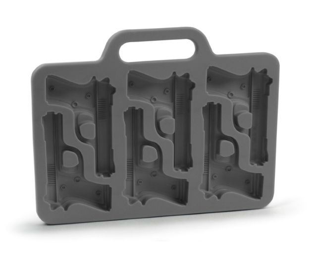 Freeze Handgun-Shaped Ice-Cube Tray