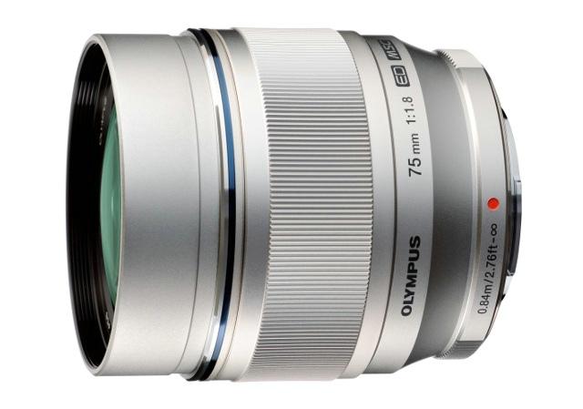 Olympus M.ZUIKO DIGITAL ED 75mm f/1.8 lens