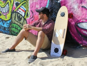 ZBoard: The Weight-Sensing Electric Skateboard