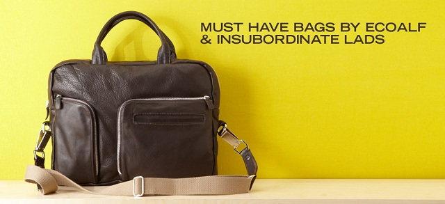 Must Have Bags by ECOALF & Insubordinate Lads at MYHABIT