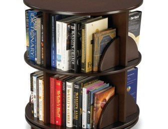 The Rotating Bookcase by Hammacher Schlemmer