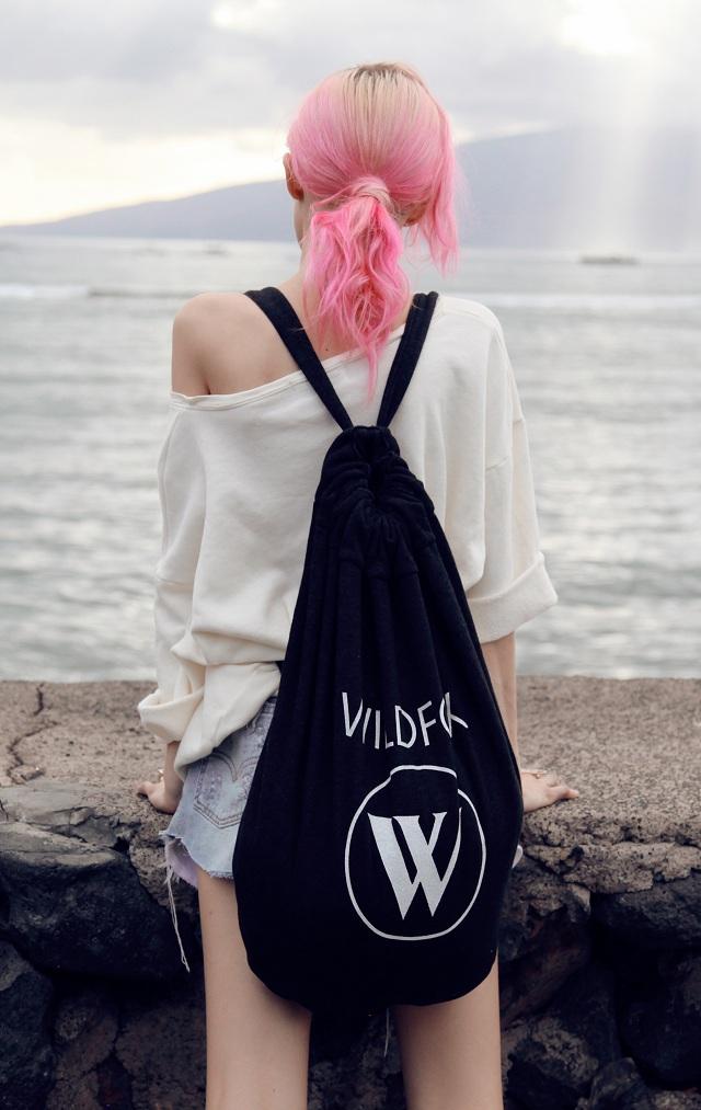 Wildfox Beach Logo Roadtrip Bag