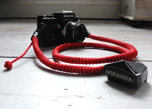 Bespoke Camera Strap by Tim Irving