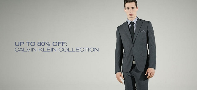 Calvin Klein Collection at MYHABIT