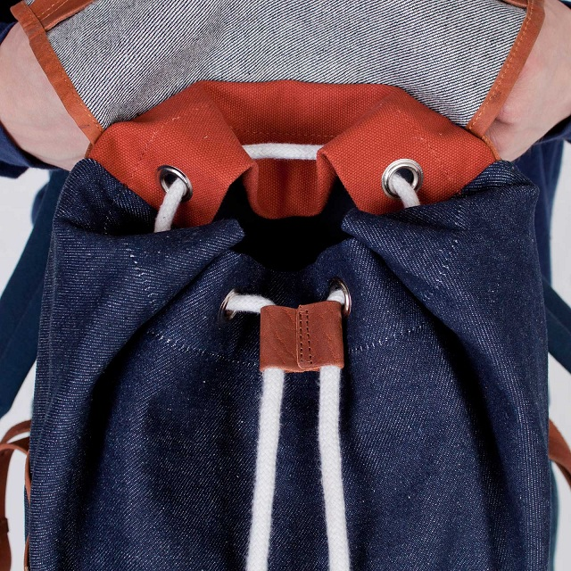 Denim Backpack for Sandqvist By Denim Demon
