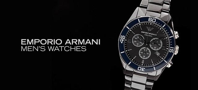 Emporio Armani Men's Watches at MYHABIT
