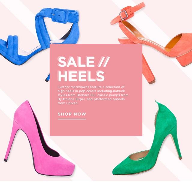 High heels deals from ssense