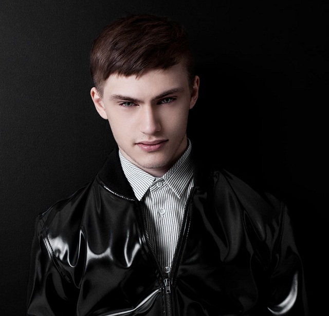 Maison Martin Margiela Black Faux Leather Jacket