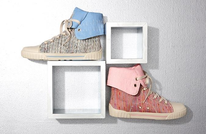 Gola Daze High-Top Sneaker