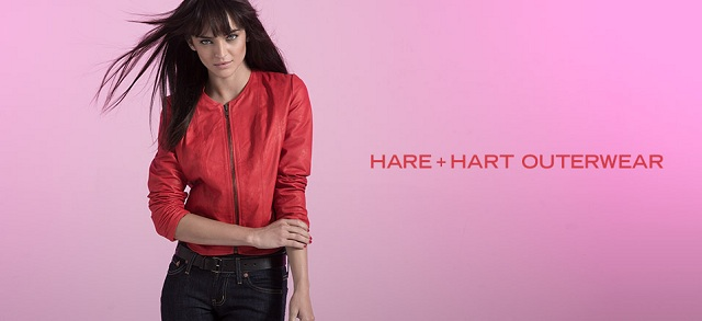HARE + HART Outerwear at MYHABIT