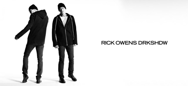 Rick Owens DRKSHDW at MYHABIT