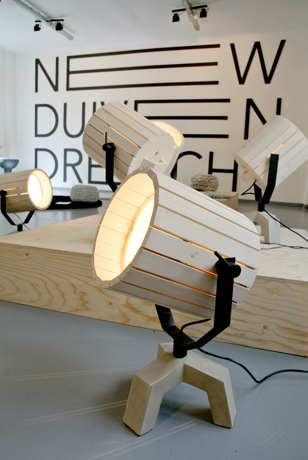 Barrel Lamp by Niuewe Heren