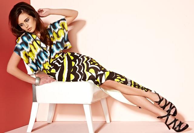 Chris Benz Rhoda Printed Maxi Dress