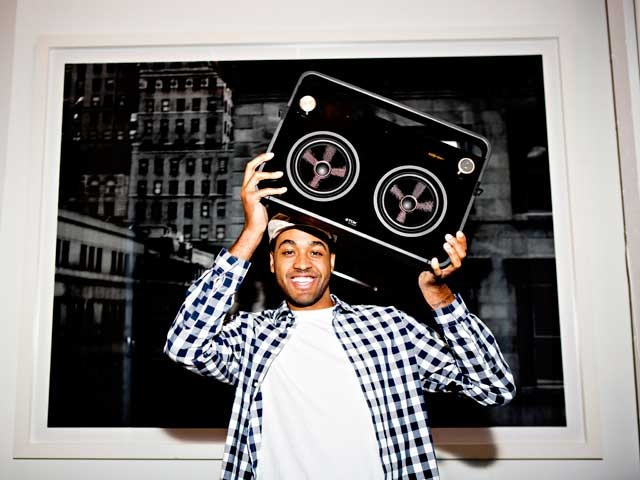 TDK Life on Record 2-Speaker Boombox Audio System