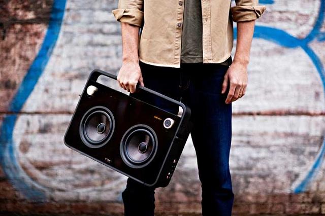 TDK Life on Record 2-Speaker Boombox Audio System