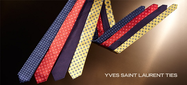 Yves Saint Laurent Ties at MYHABIT