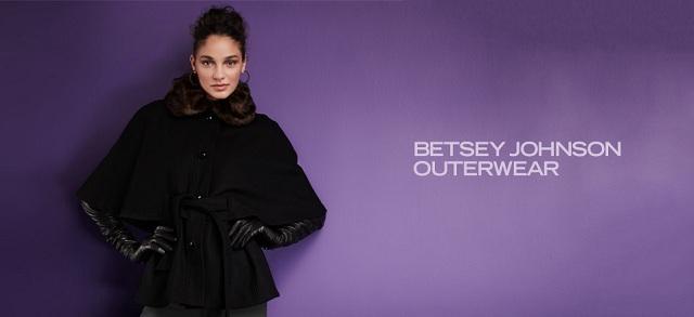 Betsey Johnson Outerwear at MYHABIT