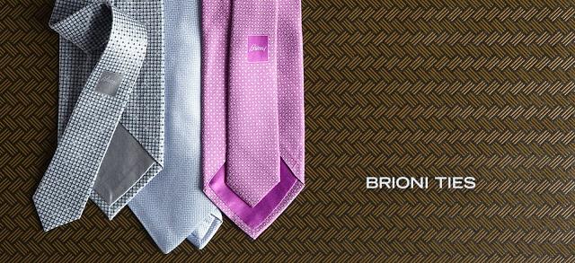 Brioni Ties at MYHABIT