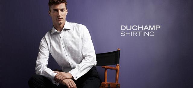 Duchamp Shirting at MYHABIT