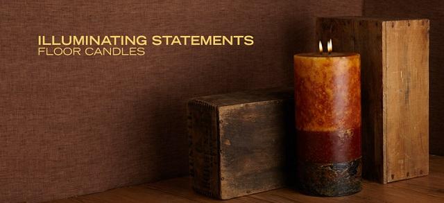 Illuminating Statements: Floor Candles at MYHABIT