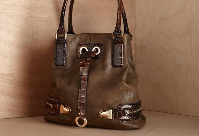 Melie Bianco Karina Bucket Handbag