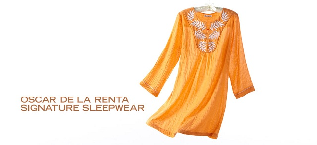 Oscar de la Renta Signature Sleepwear at MYHABIT
