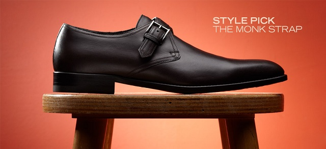 Style Pick: The Monk Strap at MYHABIT