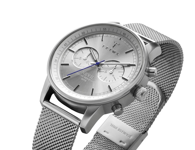 TRIWA Stirling Steel Nevil Watch