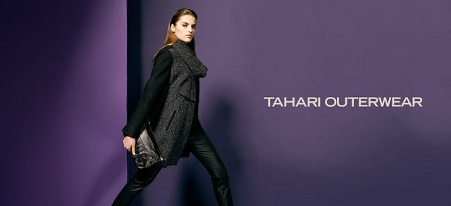 Tahari Outerwear at MYHABIT