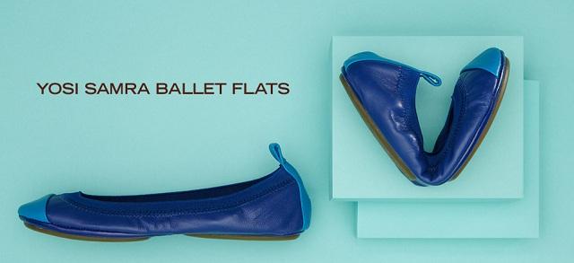 Yosi Samra Ballet Flats at MYHABIT